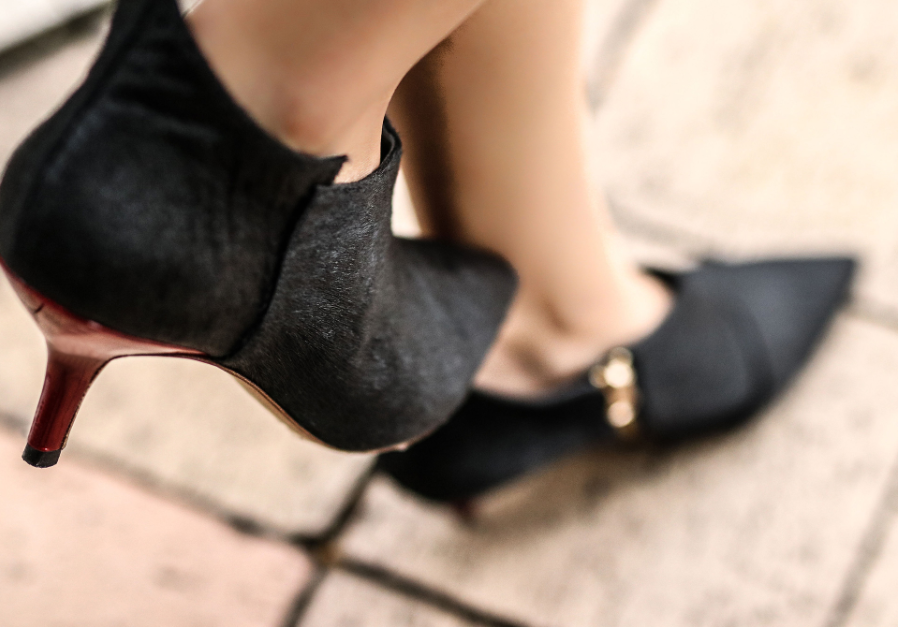 You Will Never Think About Footwear The Same Again With This Low Heel Collection